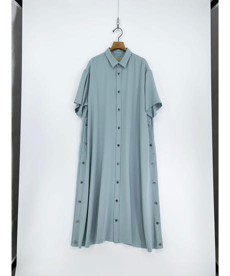 Robes & Confections  /  THOMAS MASON Stripe Broadcloth Button Up Dress