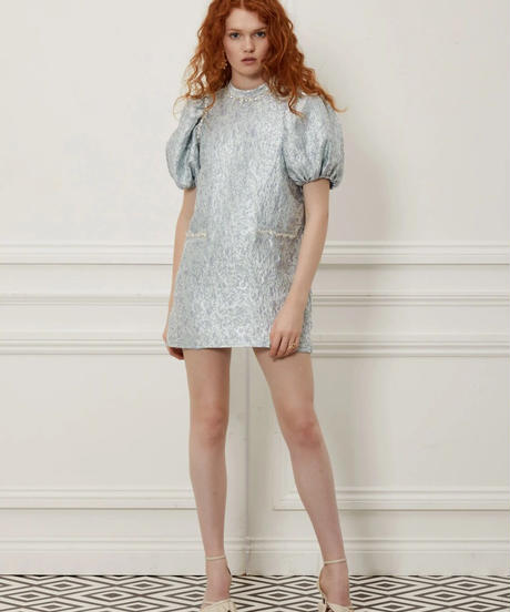 sister jane / DREAM Speakeasy Puff Sleeve Mini Dress