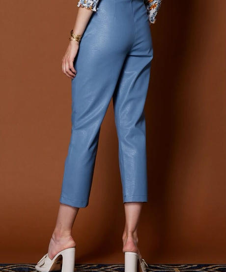 GHOSPELL / Finery Faux Leather Trousers