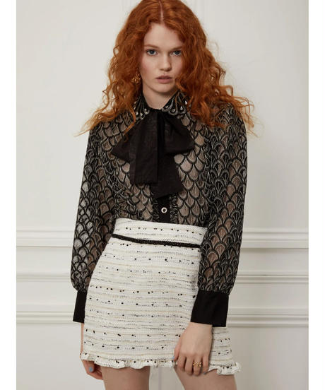 sister jane / DREAM Jazz Age Embroidered Shirt