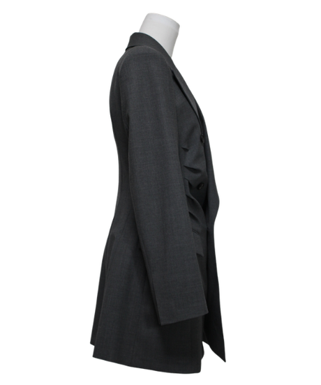 FETICO /  Gathered tailord jacket ( GRAY )