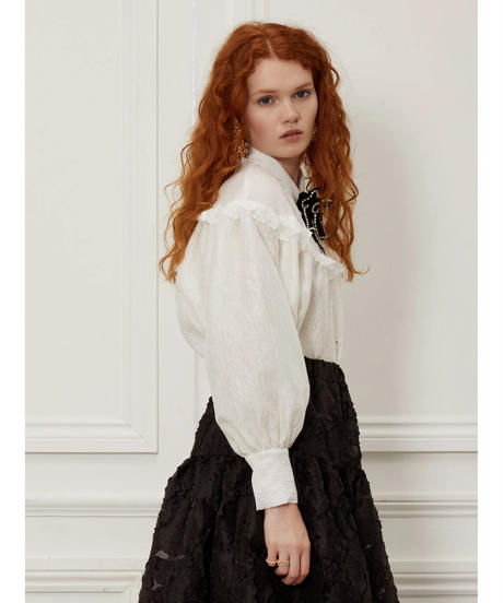 sister jane / DREAM Fancy Footwork Bow Blouse