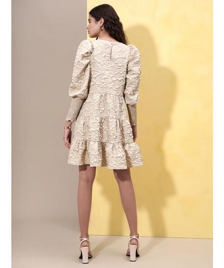 GHOSPELL / Diffusion Jacquard Mini Dress