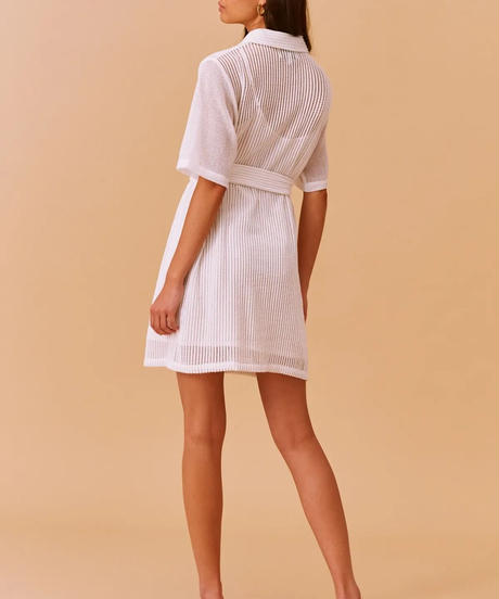 FINDERS /  COCONUT MINI DRESS IVORY