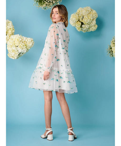 sister jane / Dainty May Embroidered Mini Dress