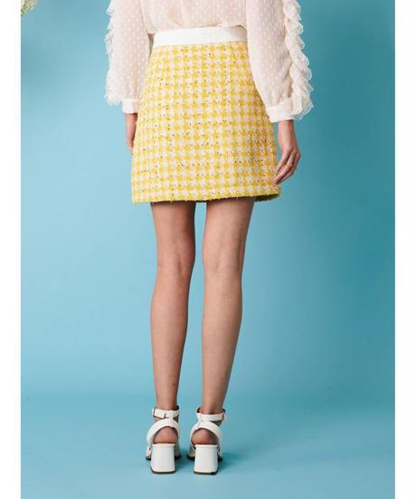 sister jane / Honey Bee Tweed Mini Skirt
