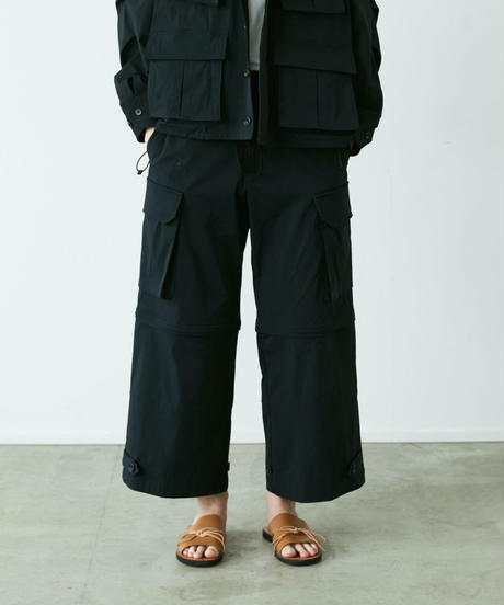 【4.10[sat]20:00‐PRE‐ORDER】M-47 DETACHABLE PANTS(BLACK)