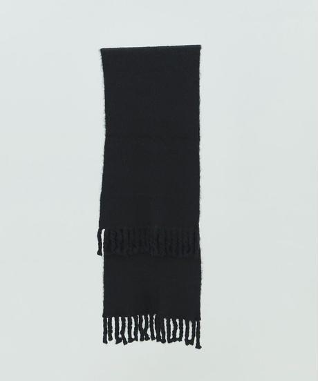 【9.25[sat]20:00‐PRE‐ORDER】 ALPACA WOOL BIG STOLE (BLACK)