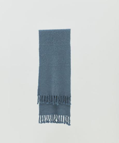 【9.25[sat]20:00‐PRE‐ORDER】 ALPACA WOOL BIG STOLE (ASH BLUE)