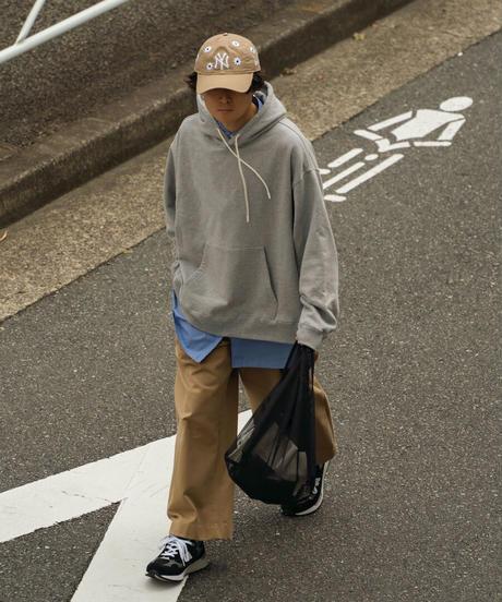 【8.21 [sat]20:00‐PRE‐ORDER】 OVERSIZED HOODIE (GRAY)