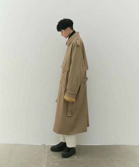 【RE-STOCK】OVERSIZED TRENCH COAT (BEIGE)
