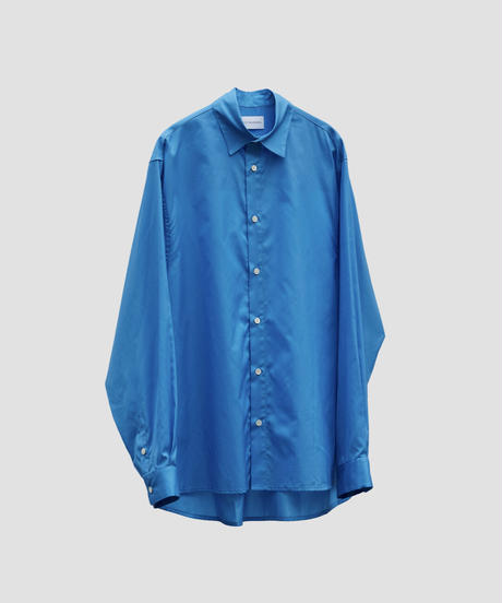 STYLING LONG SLIT SHIRT NEW(BLUE)