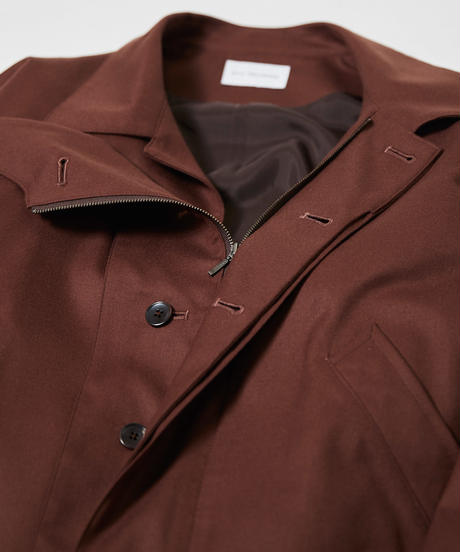 2way collar drizzler jacket(Charcoal)