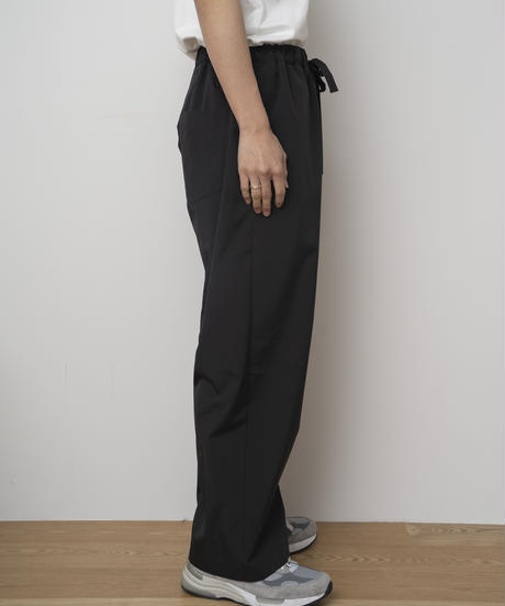 【4.27[tue]20:00‐PRE‐ORDER】SOLOTEX®✕ECOPET® WIDE EASY PANTS  (BLACK)