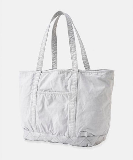 DIGAWEL  Garment Dye Vinyl Tote Bag (L)【LIGHT GRAY】