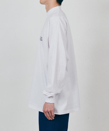 DIGAWEL  Mock Turtle L/S Tee(ready-made) embroidery
