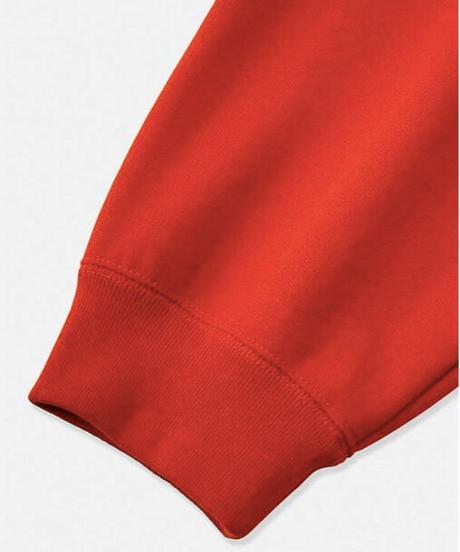 DIGAWEL  Welt Pocket Sweatshrit【ORANGE】