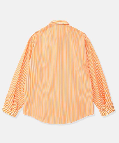 DIGAWEL  STRIPE SHIRT(ORANGE)