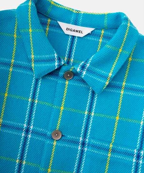 DIGAWEL  Check Shirt Blouson