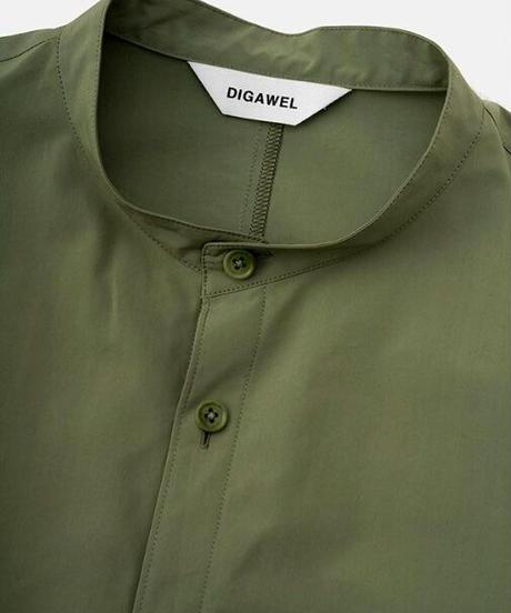 DIGAWEL  Long Shirt【MOS GREEN】