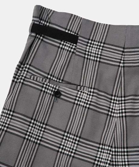 DIGAWEL  SIDE ADJUST PANTS ② (Glen Check)