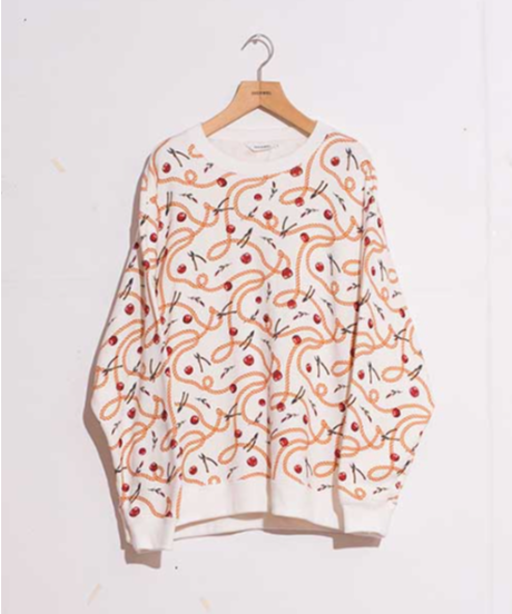 DIGAWEL SWEAT SHIRT②(Hermès) 【WHITE】