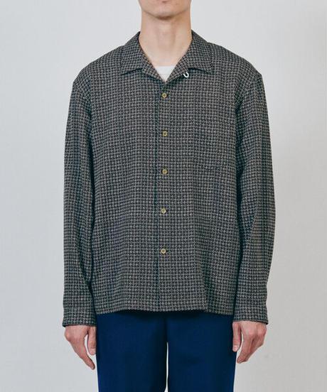 DIGAWEL  Open Collar Shirt【BROWN】