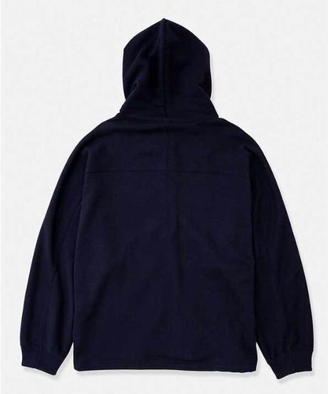 DIGAWEL  Dolman Sleeve zip Hoodie【NAVY】