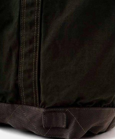 DIGAWEL  Garment Dye Vinyl Tote Bag (M)【OLIVE】