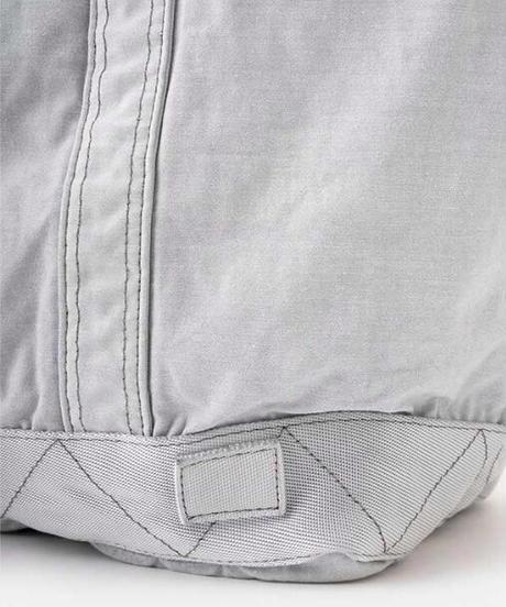 DIGAWEL  Garment Dye Vinyl Tote Bag (M)【LIGHT GRAY】
