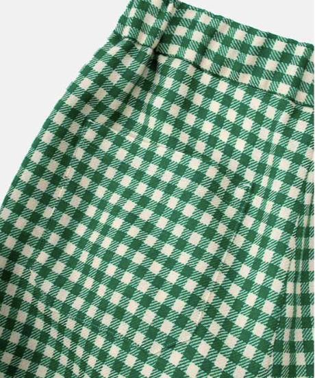 DIGAWEL  Gingham Easy Pants【GREEN】