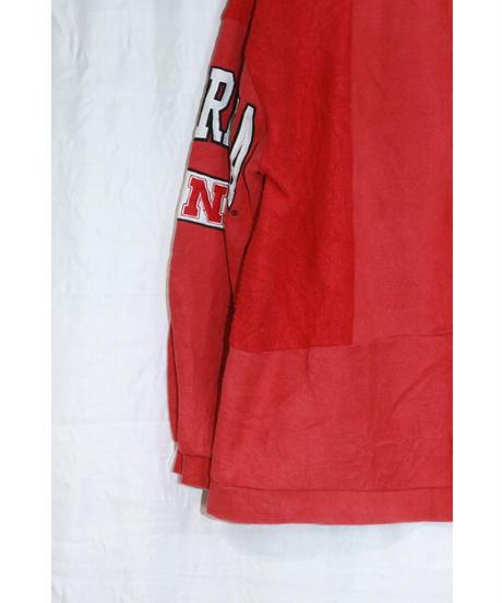 No.R-W-030  college logo sleeve print sweat