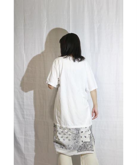 【限定アイテム】No.R-W-102 Switching Pullover -BANDANA (White×White)