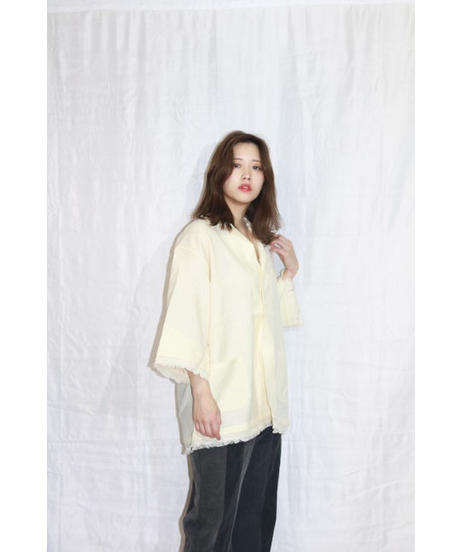No.W-146 military pajamas fringe Shirt Jacket