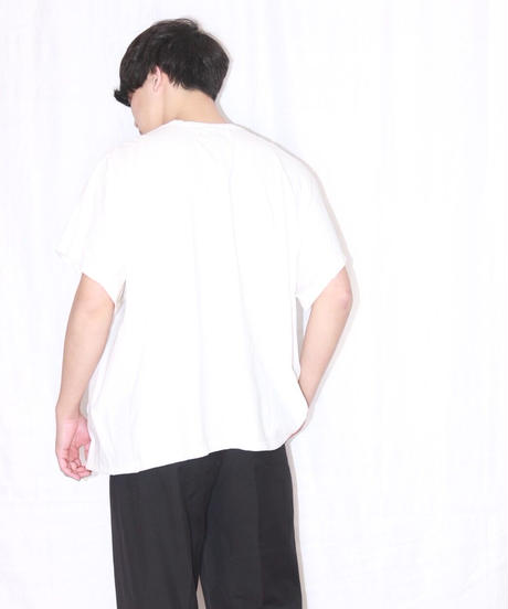 No.W-109 switching side and under sleeve pullover -TEE AND SHIRT