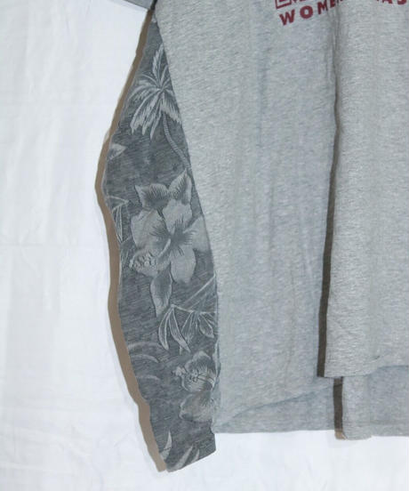 No.R-U-002 switching side and under sleeve pullover -ALOHA