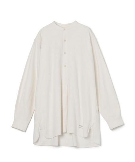 Cotton Slab Brushed Sleeping Shirt