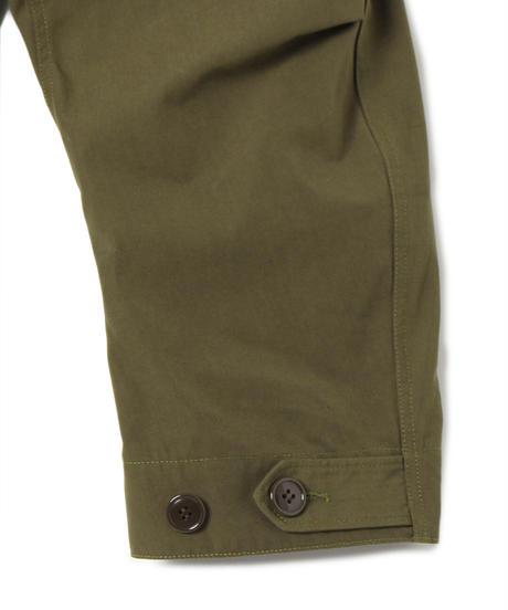 Cotton/Polyester Plain Weave Fish Tail Coat