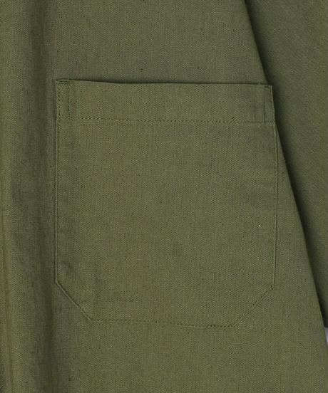 Cotton/Linen Slab  Sleeping H/S Shirt