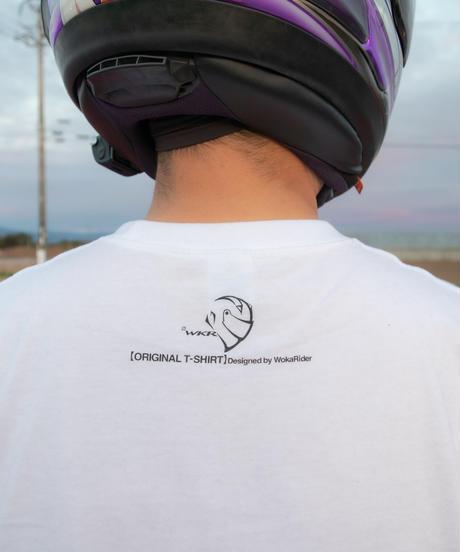 【最終受注生産】WokaRiderオリジナルTシャツ(WHITE)【9月中旬出荷】