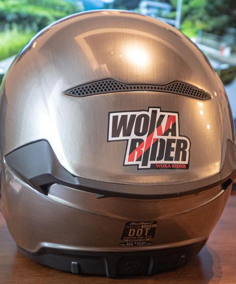 【再生産】WokaRiderオリジナルステッカー#02【9月中旬出荷】