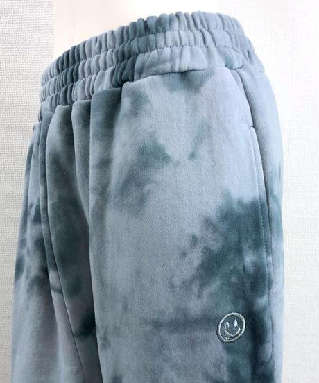 ムラ染めプリントリラックスパンツ(AF801005-30)