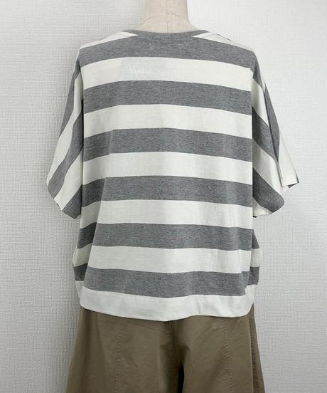 ワイドボーダードルマンTシャツ(RF251005-07)