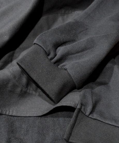 裏毛切り替えBIGシャツブルゾン(AE054004-09)