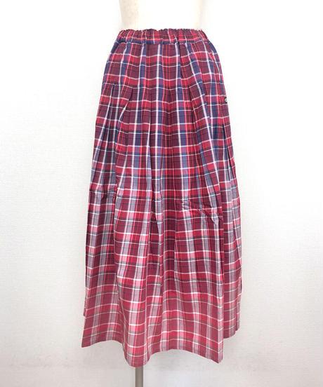 チェックグラデーションスカート(AG142005-18)