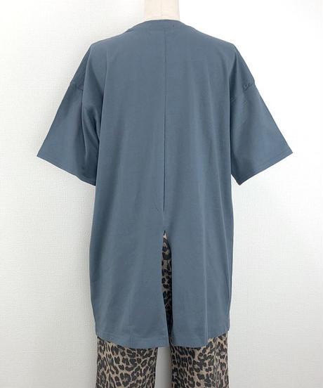 BACKスリットルーズTシャツ(AF219005-30)
