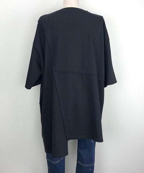 パッチワークBIGTシャツ(AF231005-09)