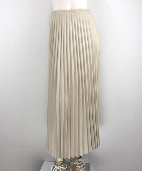 フェイクレザープリーツスカート(AG012005-92)