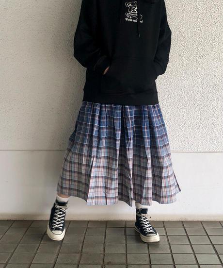 チェックグラデーションスカート(AG142005-30)