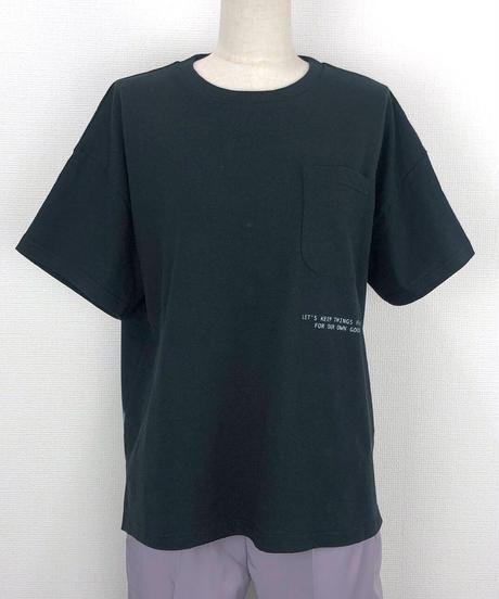 デッドスマイルポケットTシャツ(AF216005-09)